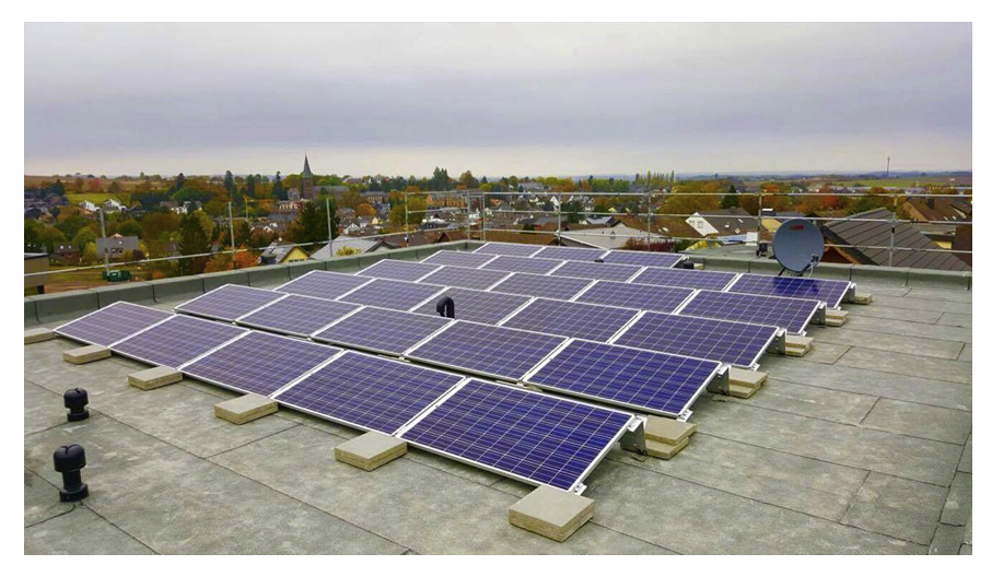 Die Kraft der Sonne nutzen! Photovoltaikanlage in Kommern.